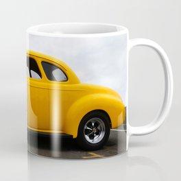 SUPER CHARGED YELLOW HOT ROD Coffee Mug