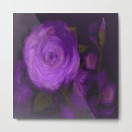 The Purple Rose Metal Print