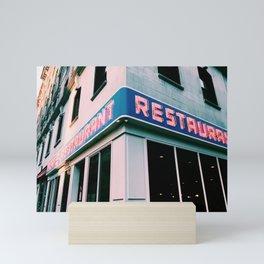The Seinfeld Restaurant  Mini Art Print