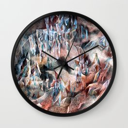 magical mountain Wall Clock