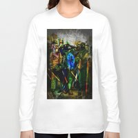 ukraine Long Sleeve T-shirts featuring UKRAINE by lucborell