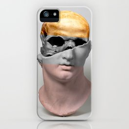 Head of a Youth Sculpture iPhone Case