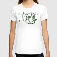 brasil T-shirts featuring BRASIL by Roberlan Borges