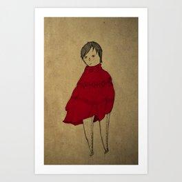 red robe Art Print