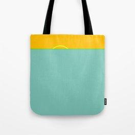 Green Flash #ocean #minimal Tote Bag