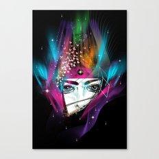 Femina Nebulae Canvas Print