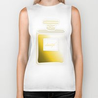 perfume Biker Tanks featuring Society6 Perfume by Jessica Slater Design & Illustration