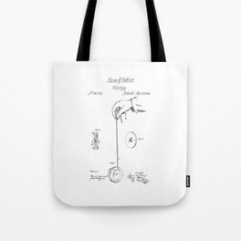 Yo-Yo: Original Patent Tote Bag