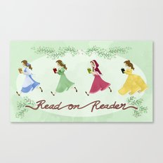 Read on Reader Canvas Print