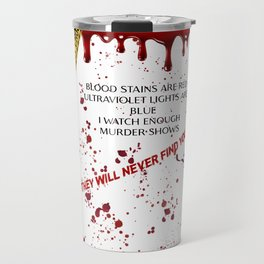 Crime Investigation Lovers Travel Mug