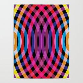 Ripple pattern Poster
