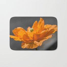 Spanish Poppy Bath Mat