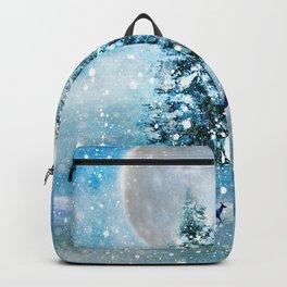 Winter Night 4 Backpack