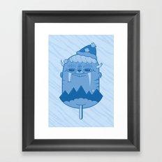 King of Mountain Framed Art Print