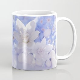 Queen and court- Spring flowers in blue and white - Stilllife Coffee Mug