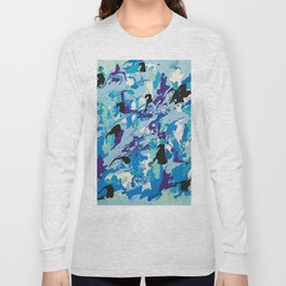 Blue Vision Long Sleeve T-shirt