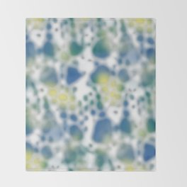 Impression of glimpses of light Throw Blanket