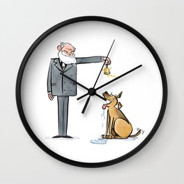 Pavlov & Dog Wall Clock