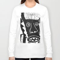 bull Long Sleeve T-shirts featuring Bull by Hadar Geva