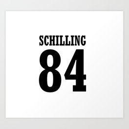 Schilling 84 Art Print