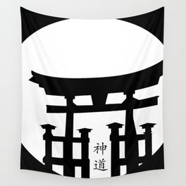 Shinto Wall Tapestry