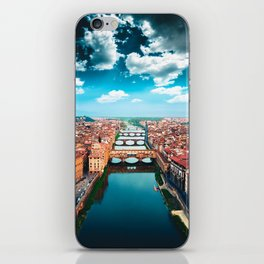 ponte vecchio in florence iPhone Skin