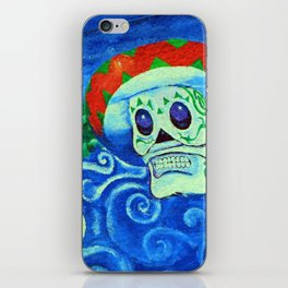 Muerto con mi sombrero fine art photography iPhone Skin