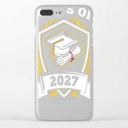 Class-of-2027---Class-of-2027-Graduation-T-Shirt---Sao-chép Clear iPhone Case