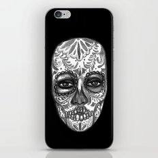 Floating Sugar Skull iPhone & iPod Skin