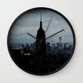 Manhattan Blackout Wall Clock