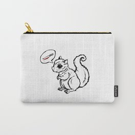 Murder on my mind (white) Carry-All Pouch