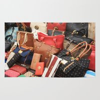 givenchy Area & Throw Rugs featuring Women's Designer Handbags by taiche