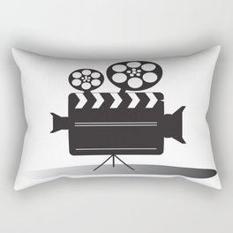 Video Camera Rectangular Pillow