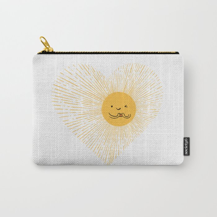 You are the Sunshine of my heart Carry-All Pouch