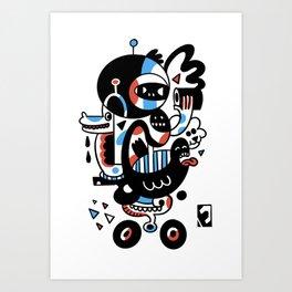 Bcycle Art Print