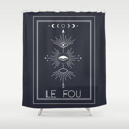 Le Fou or The Fool Tarot Shower Curtain