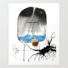 The Trouble With Flight Art Print