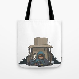 Cardboard Castle Tote Bag