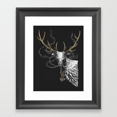 Oh Deer! Light version Framed Art Print