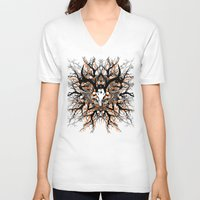 pagan V-neck T-shirts featuring Pagan mandala by Renars