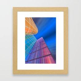 citylines -5- Framed Art Print