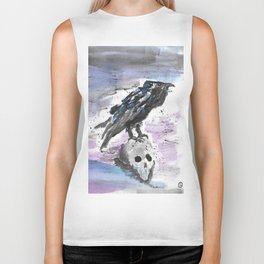 The Raven Biker Tank