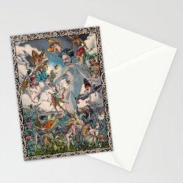 El Fauno y las Hadas Stationery Cards