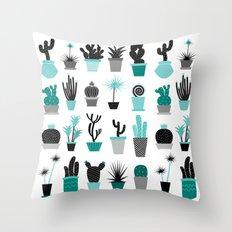 Cactuses Throw Pillow