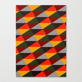 Ternion Series: Wintertide Carnival Motif Canvas Print