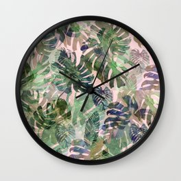 tropical confusion Wall Clock