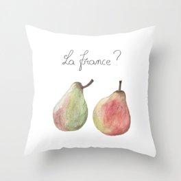 La France ? Throw Pillow