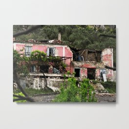 Uninhabited Metal Print