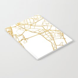 MONTREAL CANADA CITY STREET MAP ART Notebook