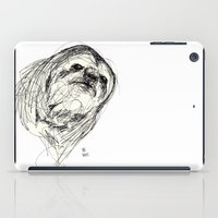 sloth iPad Cases featuring Sloth by Ursula Rodgers